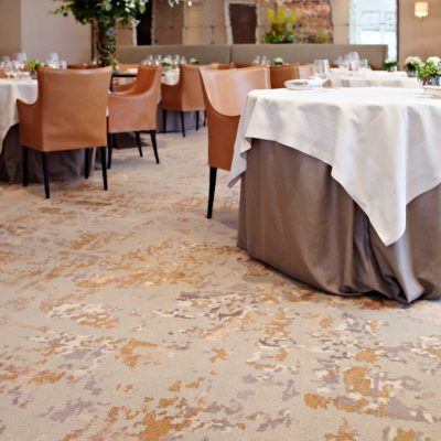 Bespoke carpet for commercial areas