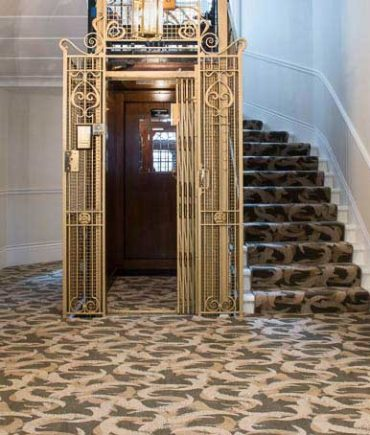 Heavy wearing carpet for Eaton Mansions